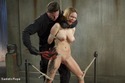 Photo number 15 from Fucking up Rain DeGrey with insane bondage and brutal torment shot for Sadistic Rope on Kink.com. Featuring Rain DeGrey in hardcore BDSM & Fetish porn.