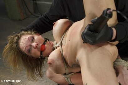 Photo number 3 from Fucking up Rain DeGrey with insane bondage and brutal torment shot for Sadistic Rope on Kink.com. Featuring Rain DeGrey in hardcore BDSM & Fetish porn.
