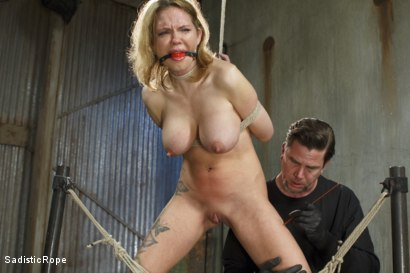 Photo number 4 from Fucking up Rain DeGrey with insane bondage and brutal torment shot for Sadistic Rope on Kink.com. Featuring Rain DeGrey in hardcore BDSM & Fetish porn.