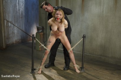 Photo number 6 from Fucking up Rain DeGrey with insane bondage and brutal torment shot for Sadistic Rope on Kink.com. Featuring Rain DeGrey in hardcore BDSM & Fetish porn.