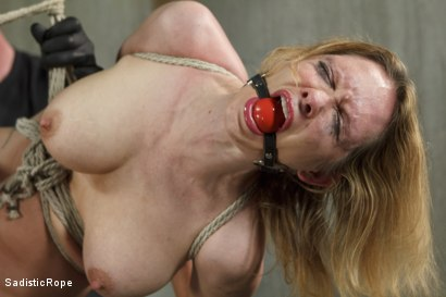 Photo number 7 from Fucking up Rain DeGrey with insane bondage and brutal torment shot for Sadistic Rope on Kink.com. Featuring Rain DeGrey in hardcore BDSM & Fetish porn.