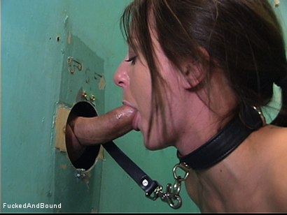 Photo number 2 from The Squirting Slave shot for  on Kink.com. Featuring Tony De Sergio and Denice K in hardcore BDSM & Fetish porn.