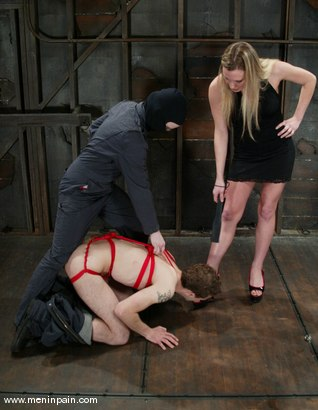Photo number 2 from Elliot Skellington and Harmony shot for Men In Pain on Kink.com. Featuring Harmony and Elliot Skellington in hardcore BDSM & Fetish porn.