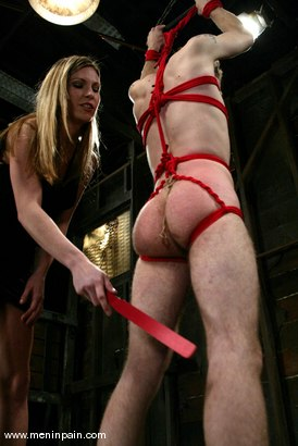Photo number 4 from Elliot Skellington and Harmony shot for Men In Pain on Kink.com. Featuring Harmony and Elliot Skellington in hardcore BDSM & Fetish porn.