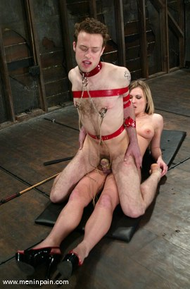 Photo number 8 from Elliot Skellington and Harmony shot for Men In Pain on Kink.com. Featuring Harmony and Elliot Skellington in hardcore BDSM & Fetish porn.