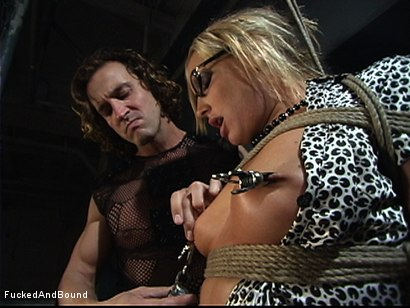 Photo number 1 from A Secretary's Delight shot for  on Kink.com. Featuring Flower Tucci and Tony De Sergio in hardcore BDSM & Fetish porn.