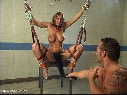 Photo number 10 from Painful Pleasure Of Her Predicament shot for Fucked and Bound on Kink.com. Featuring Devon Lee and Marcus London in hardcore BDSM & Fetish porn.