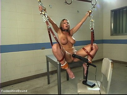 Photo number 12 from Painful Pleasure Of Her Predicament shot for Fucked and Bound on Kink.com. Featuring Devon Lee and Marcus London in hardcore BDSM & Fetish porn.