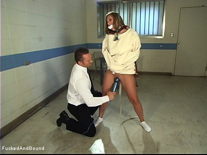 Photo number 16 from Painful Pleasure Of Her Predicament shot for Fucked and Bound on Kink.com. Featuring Devon Lee and Marcus London in hardcore BDSM & Fetish porn.