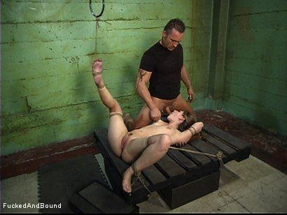 Photo number 12 from Fucked Hard In Chains shot for  on Kink.com. Featuring Roma and Marcus London in hardcore BDSM & Fetish porn.