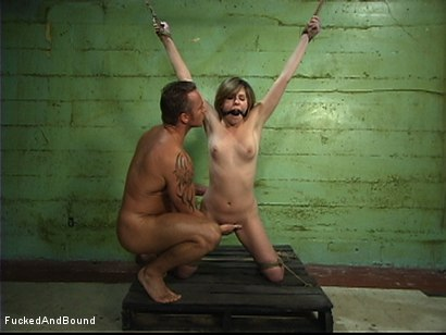 Photo number 14 from Fucked Hard In Chains shot for  on Kink.com. Featuring Roma and Marcus London in hardcore BDSM & Fetish porn.