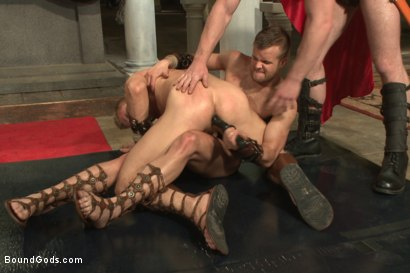 Photo number 8 from Roman Gladiator Live Show - Part One  shot for Bound Gods on Kink.com. Featuring Van Darkholme, Connor Maguire, Connor Patricks, Alex Adams and Christian Wilde in hardcore BDSM & Fetish porn.