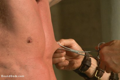 Photo number 1 from Connorligula - Roman Gladiator Live Show - Part Two shot for Bound Gods on Kink.com. Featuring Van Darkholme, Connor Maguire, Connor Patricks, Alex Adams and Derek Pain in hardcore BDSM & Fetish porn.