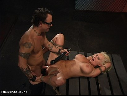 Photo number 8 from Test Riding Carly shot for  on Kink.com. Featuring Carly Parker and Kurt Lockwood in hardcore BDSM & Fetish porn.