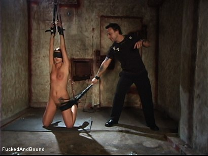 Photo number 2 from The Kinky Girl Next Door shot for Brutal Sessions on Kink.com. Featuring Kurt Lockwood and Sara Faye in hardcore BDSM & Fetish porn.