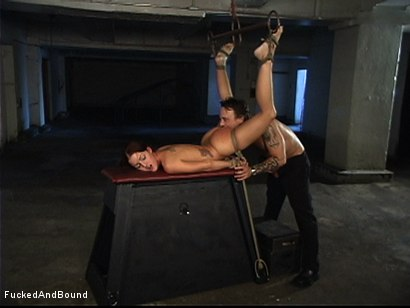Photo number 9 from The Kinky Girl Next Door shot for Brutal Sessions on Kink.com. Featuring Kurt Lockwood and Sara Faye in hardcore BDSM & Fetish porn.