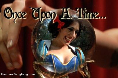 Fairytale Princess Gangbang!