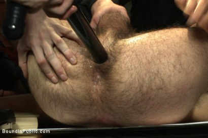 Photo number 10 from Hairy perv gets taken downtown & gang fucked by the whole jail house shot for Bound in Public on Kink.com. Featuring Brandon Atkins, Adam Herst, Dayton O'Connor and Big Red in hardcore BDSM & Fetish porn.
