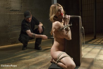 Photo number 6 from Bit Tit MILF in Extreme Bondage shot for Sadistic Rope on Kink.com. Featuring Carissa Montgomery in hardcore BDSM & Fetish porn.