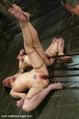 Photo number 11 from Dana DeArmond and Pinky Lee shot for Water Bondage on Kink.com. Featuring Pinky Lee and Dana DeArmond in hardcore BDSM & Fetish porn.
