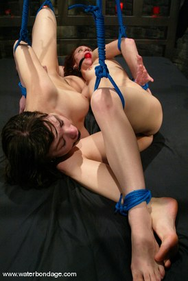 Photo number 5 from Dana DeArmond and Pinky Lee shot for Water Bondage on Kink.com. Featuring Pinky Lee and Dana DeArmond in hardcore BDSM & Fetish porn.