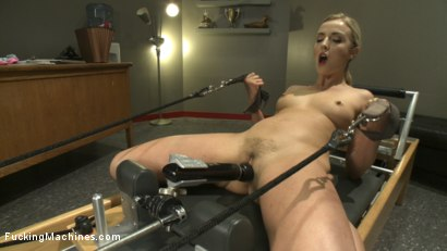 Photo number 2 from We MAKE her SQUIRT.  shot for Fucking Machines on Kink.com. Featuring Karla Kush in hardcore BDSM & Fetish porn.