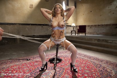 Photo number 5 from Anal MILF Training Holly Heart Day One shot for The Training Of O on Kink.com. Featuring Holly Heart and Owen Gray in hardcore BDSM & Fetish porn.
