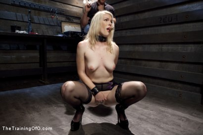 Photo number 4 from Anal Fuck Training Newbie Ella Nova, Day Three shot for The Training Of O on Kink.com. Featuring Ella Nova  and Owen Gray in hardcore BDSM & Fetish porn.