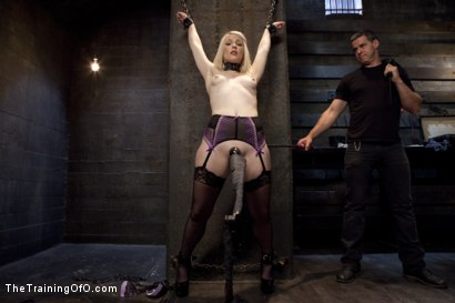 Photo number 1 from Anal Fuck Training Newbie Ella Nova, Day Three shot for The Training Of O on Kink.com. Featuring Ella Nova  and Owen Gray in hardcore BDSM & Fetish porn.