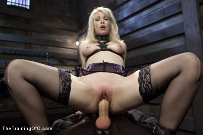 Photo number 9 from Anal Fuck Training Newbie Ella Nova, Day Three shot for The Training Of O on Kink.com. Featuring Ella Nova  and Owen Gray in hardcore BDSM & Fetish porn.