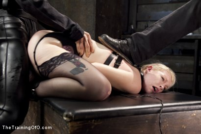 Photo number 14 from Anal Fuck Training Newbie Ella Nova, Day Three shot for The Training Of O on Kink.com. Featuring Ella Nova  and Owen Gray in hardcore BDSM & Fetish porn.