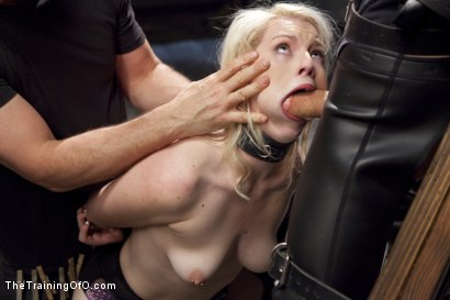 Photo number 7 from Anal Fuck Training Newbie Ella Nova, Day Three shot for The Training Of O on Kink.com. Featuring Ella Nova  and Owen Gray in hardcore BDSM & Fetish porn.