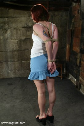 Photo number 2 from Pinky Lee shot for Hogtied on Kink.com. Featuring Pinky Lee in hardcore BDSM & Fetish porn.