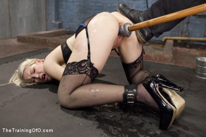 Photo number 3 from Anal Fuck Training, Final Day shot for The Training Of O on Kink.com. Featuring Ella Nova and Mickey Mod in hardcore BDSM & Fetish porn.