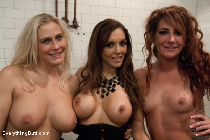 Photo number 15 from BIG BUTT GIRLS: Fisting, Enema, Squirting and HUGE strap-on cock shot for Everything Butt on Kink.com. Featuring Savannah Fox, Angel Allwood and Francesca Le in hardcore BDSM & Fetish porn.