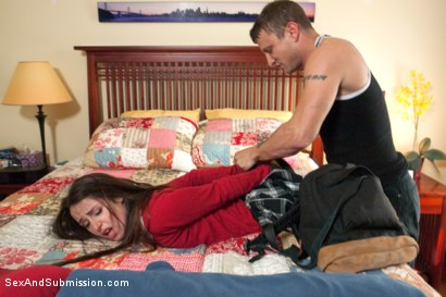 Photo number 5 from THE SWEETEST TABOO 2: A FEATURE PRESENTATION: Stepdaughter and Mother Bondage Fantasy Movie shot for Sex And Submission on Kink.com. Featuring Mr. Pete, Shay Fox and Lola Foxx in hardcore BDSM & Fetish porn.