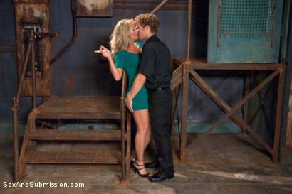 Photo number 3 from Sadistic Security Guards Fuck Sexy MILF in the Armory shot for Sex And Submission on Kink.com. Featuring Bill Bailey, Michael Vegas and Simone Sonay in hardcore BDSM & Fetish porn.