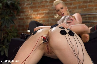 Photo number 11 from Stepsisters: Part One shot for Electro Sluts on Kink.com. Featuring Ella Nova  and Cherry Torn in hardcore BDSM & Fetish porn.