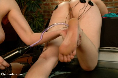 Photo number 14 from Stepsisters: Part One shot for Electro Sluts on Kink.com. Featuring Ella Nova  and Cherry Torn in hardcore BDSM & Fetish porn.