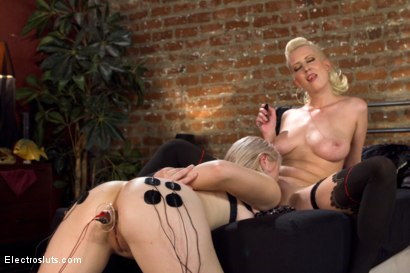 Photo number 9 from Stepsisters: Part One shot for Electro Sluts on Kink.com. Featuring Ella Nova  and Cherry Torn in hardcore BDSM & Fetish porn.