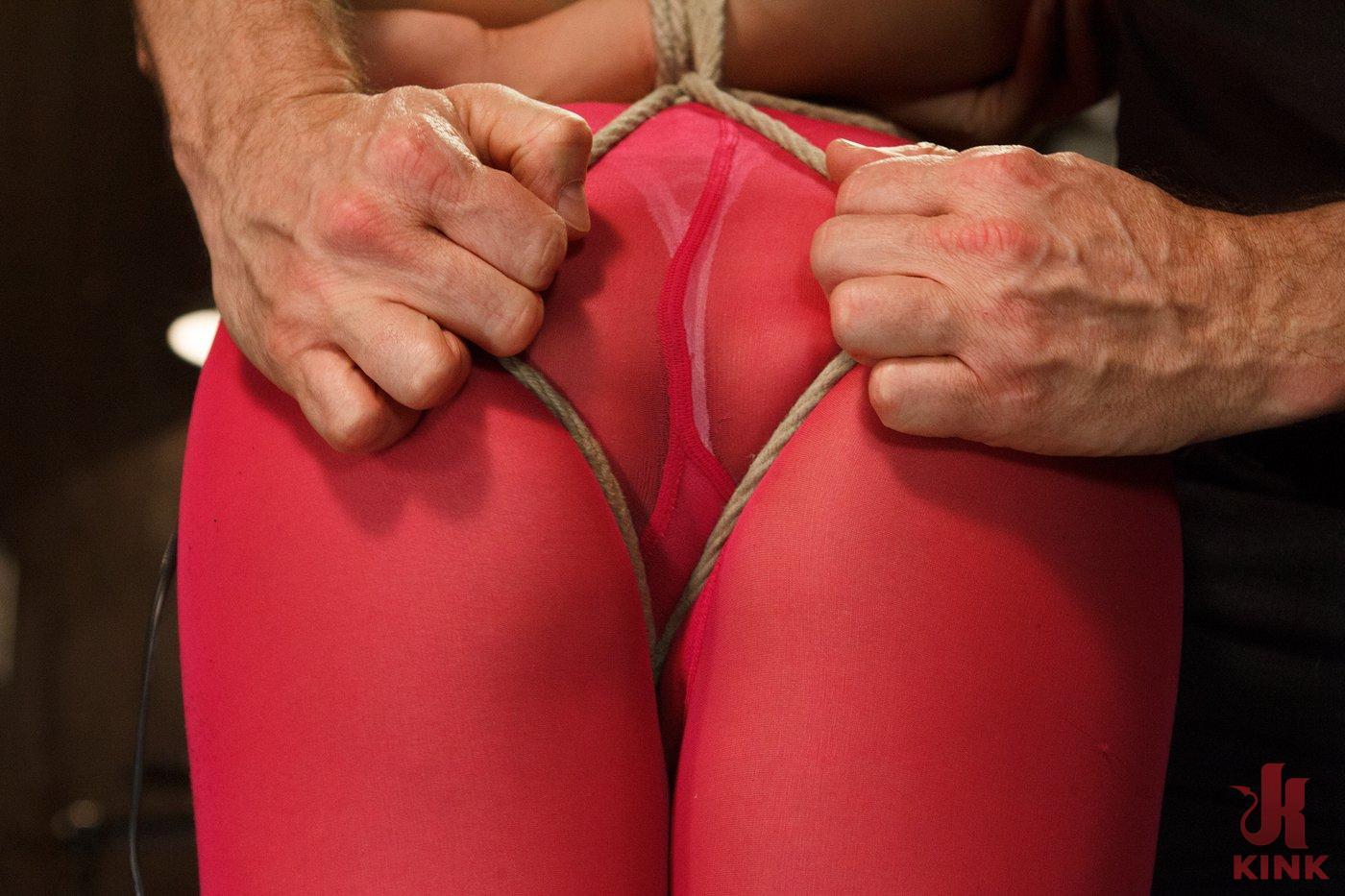 Photo number 3 from Hot Babe Tormented in Hard Bondage shot for Hogtied on Kink.com. Featuring Milcah Halili in hardcore BDSM & Fetish porn.