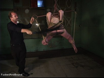 Photo number 1 from A Bondage 69 shot for Fucked and Bound on Kink.com. Featuring Brandon Iron and Caroline Pierce in hardcore BDSM & Fetish porn.