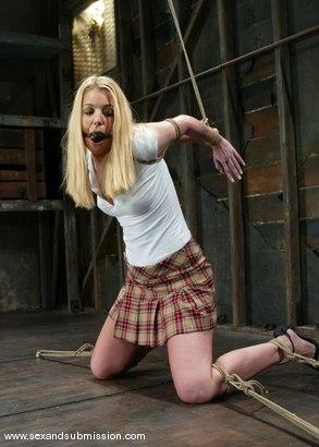 Photo number 1 from Alex Sanders and Hollie Stevens shot for Sex And Submission on Kink.com. Featuring Alex Sanders and Hollie Stevens in hardcore BDSM & Fetish porn.