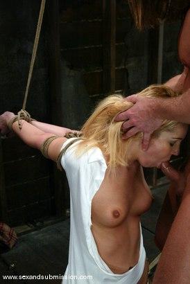 Photo number 4 from Alex Sanders and Hollie Stevens shot for Sex And Submission on Kink.com. Featuring Alex Sanders and Hollie Stevens in hardcore BDSM & Fetish porn.