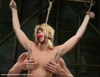 Photo number 7 from Alex Sanders and Hollie Stevens shot for Sex And Submission on Kink.com. Featuring Alex Sanders and Hollie Stevens in hardcore BDSM & Fetish porn.
