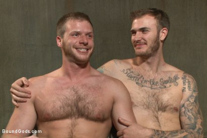 Photo number 6 from Are you ready to serve me today, boy? shot for Bound Gods on Kink.com. Featuring Christian Wilde and Brian Bonds in hardcore BDSM & Fetish porn.