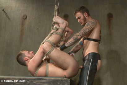 Photo number 12 from Are you ready to serve me today, boy? shot for Bound Gods on Kink.com. Featuring Christian Wilde and Brian Bonds in hardcore BDSM & Fetish porn.