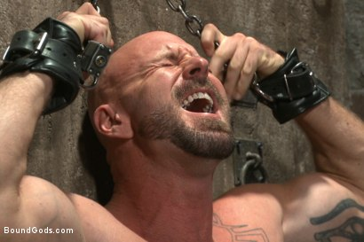 Photo number 1 from Leather Hookup with Trenton and Mitch shot for Bound Gods on Kink.com. Featuring Trenton Ducati and Mitch Vaughn in hardcore BDSM & Fetish porn.