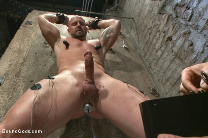 Photo number 6 from Leather Hookup with Trenton and Mitch shot for Bound Gods on Kink.com. Featuring Trenton Ducati and Mitch Vaughn in hardcore BDSM & Fetish porn.