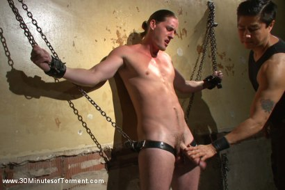 Photo number 2 from Ass Torture shot for 30 Minutes of Torment on Kink.com. Featuring Kip Johnson in hardcore BDSM & Fetish porn.